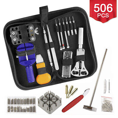 506pcs Watch Opener Hand Watchmakers Remover Repair Tool Kit Set