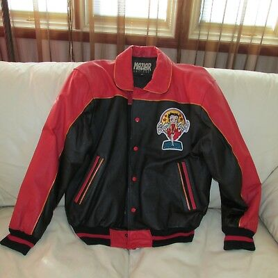 BETTY BOOP 1994 Collectible Bomber Jacket Used XL