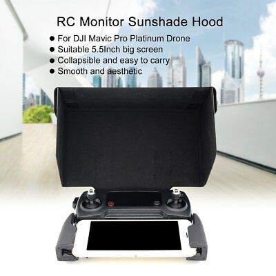 Remote Controller Monitor Sunshade Hood Sun Cover 5.5Inch for DJI Mavic Drone AL