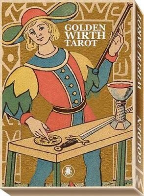 Golden Wirthtarot Grand Trumps by Oswald Wirth 9788865274378 (Cards, 2016)