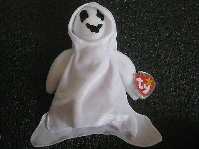 TY Beanie Babies SHEETS The Ghost 1999 NWT Halloween