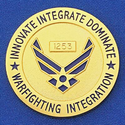 Air Force Warfighting Integration USAF Dep Chief of Staff Challenge Coin #1253