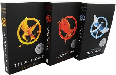 The Hunger Games Trilogy (Books 1-3) by Suzanne Collins (PDF only)