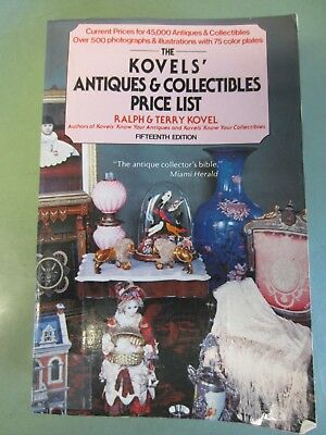 The Kovels' Antique & collectibles Price List - Fifteenth Edition - 1982-1983
