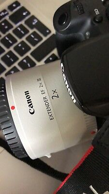 Excellent Condition CANON EF 2X III Extender/Convertor ( Used Few Times )