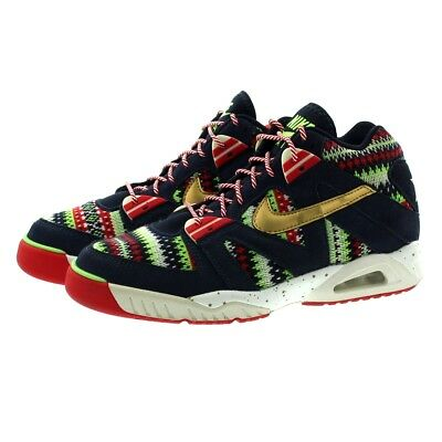 new style 380ee e78bd Nike 827822 400 Mens Air Tech Challenge III QS Hi Top Trainers Sneakers  Shoes