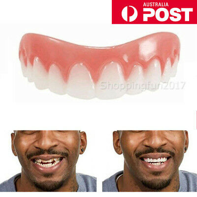 Instant Cosmetic Teeth Fake Tooth Cover False Snap On Perfect Supeaior Teeth OZ