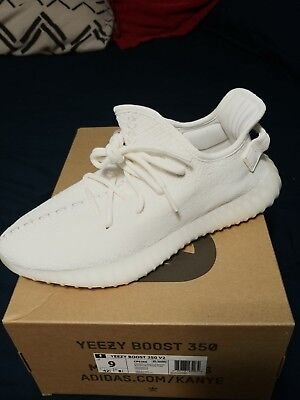 Adidas Yeezy Boost 350 V2 CREAM Triple White CP9366 YZY Kanye AUTHENTIC lot 7-10