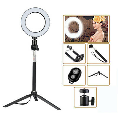 "5.5"" Dimmable LED Ring Light 14CM Photography Selfie Light Photo Camera Youtube"