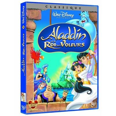 Aladdin et le king thieves DVD NEW BLISTER PACK
