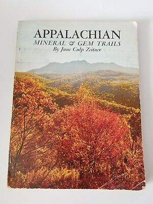 Appalachian Mineral & Gem Trails, 1970, 12 Eastern States With Maps To Gem Trail