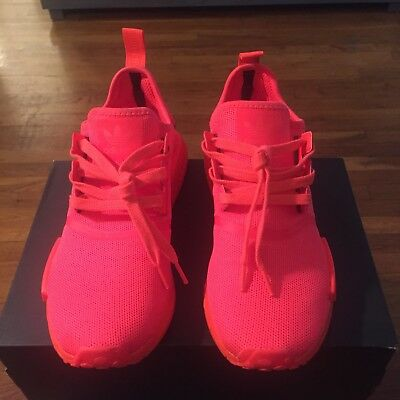 low priced c41f9 419ca Adidas NMD R1 Solar Red mens size 10.5