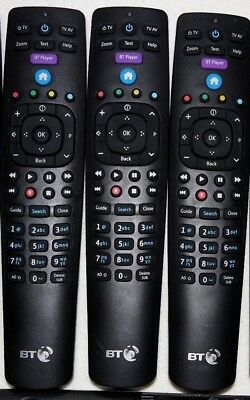 Official Genuine BT YouView Remote Control RC3124705/04B Excellent Cond Grade A