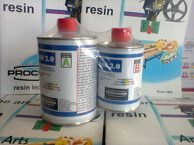 Resin casting Plexi Fluid Plexifluid 2.0 clear non-yellowing 800 gr