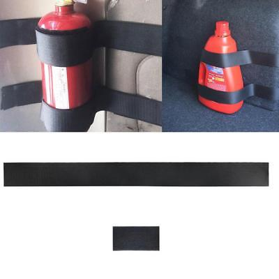 """2Pcs Car Fire Extinguisher Fixing Band Holder Mounting Belt Cage Simple TS"""""""