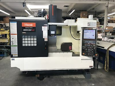 MAZAK NEXUS 530C/5AX HI VMC 2014, Tsudakoma TN-161 5-Axis Rotary Table