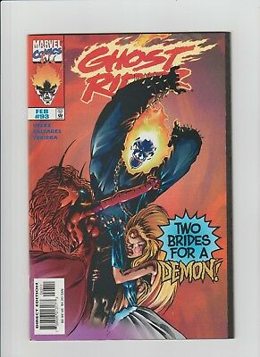 Ghost Rider #93 (Feb 1998, Marvel) NM- (9.2) Last Issue of 2nd. Series !!!!!!