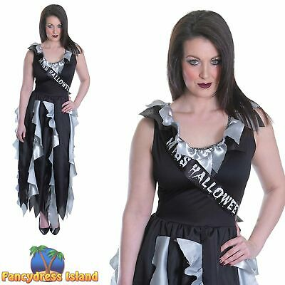 MENS CHEAP HALLOWEEN FANCY DRESS COSTUME ZOMBIE PROM KING SASH ACCESSORY