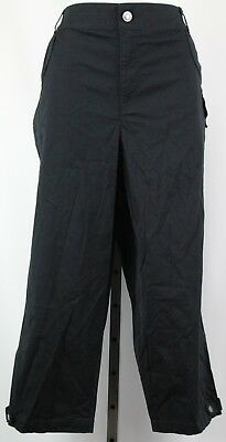 5aced3fa24922 STYLE   CO 20w Black Shimmer Pull On Leggings Pants NWT FREE ...