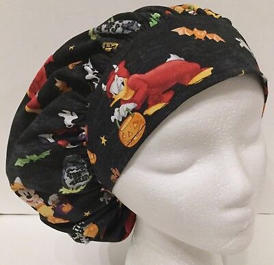 Halloween Large Medical Bouffant OR Scrub Cap Surgical Surgery Hat