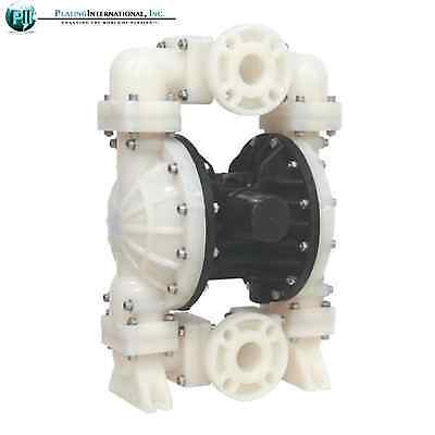 "Industrial Chemical Resistant 2"" Inch Air Diaphragm Pump"