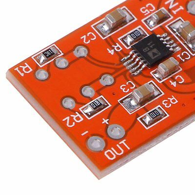 Microphone Preamplifier Board Low Noise COMP Compression Module DC 3V-5V QC