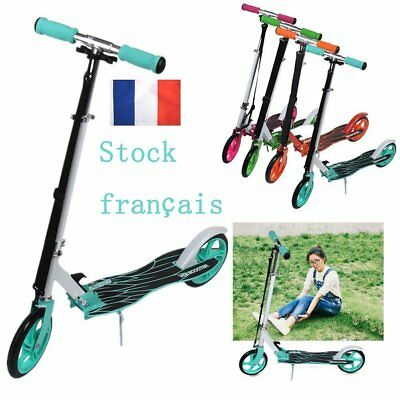 ADULTE Trottinette freestyle stunt  Scooter Roller City repliable FR STOCK