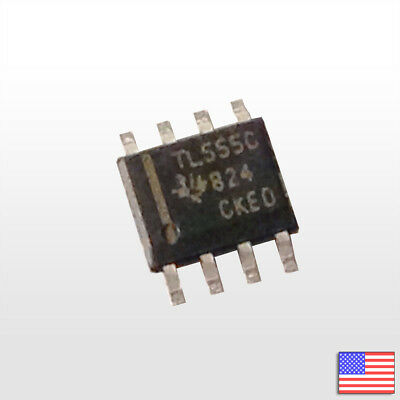 5pcs 5x 555 SMD Timer Texas Instruments TLC555CDR CMOS FET - Fast Ship From USA