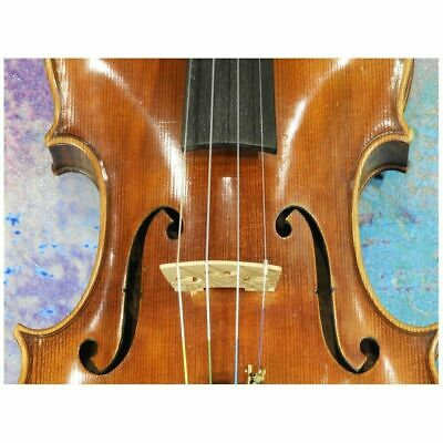 Fine Antique German Violin made after Guarneri Circa 1940 Branded Grand Solo