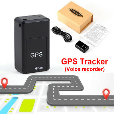Mini Magnetic Car SPY GPS Tracker Real Time Tracking Locator Device Voice Record