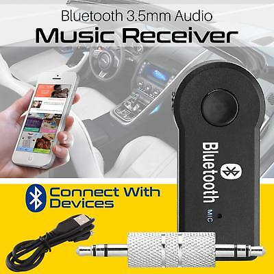 3.5mm Wireless Bluetooth AUX Audio Stereo Music Home Car Receiver Adapter