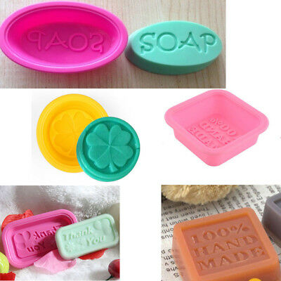 Fashion Silicone Soap Mold Cake Candy Chocolate Cookie Cupcake Mold Ice Mould
