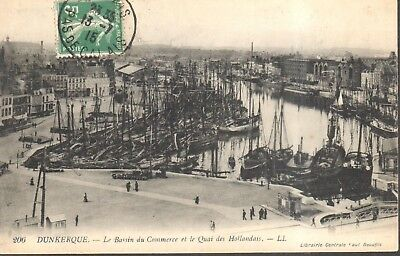 CPA - France - (59) Nord - Dunkerque - Le Bassin du Commerce