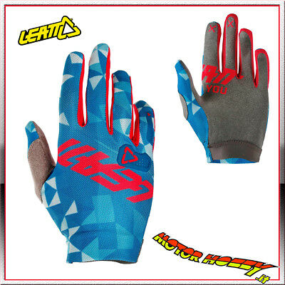Guanto Glove Cross Enduro Quad Leatt Gpx 2.5 X-Flow Red Red Taglia Xl