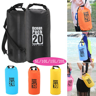 Waterproof Dry Bag Sack Kayak Sailing Fishing Camping Float Canoe