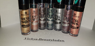 Essence Metal Shock  Eyeshadow Lidschatten Farbwahl 3,5 ml Wischfest