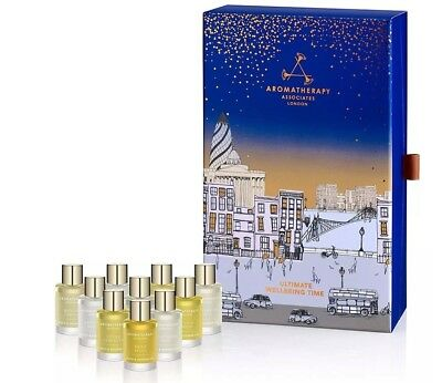 Aromatherapy Associates Ultimate Wellbeing Time Bath Collection 10 x 9ml - BNIB