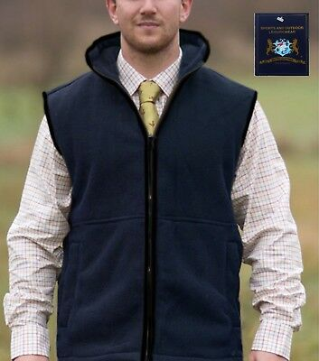 Mens Country Fleece Bodywarmer Waistcoat Gilet Vest Sleeveless Jacket coat Top