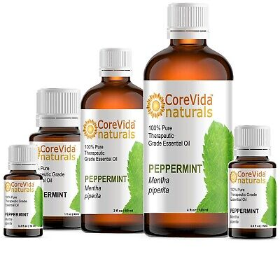 Peppermint Essential Oil 0.3oz - 16oz 100% Pure Therapeutic Grade For Diffuser