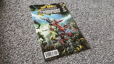 INFINITY COUNTDOWN: CHAMPIONS #1 of 2 Cvr A (2018) MARVEL EVENT