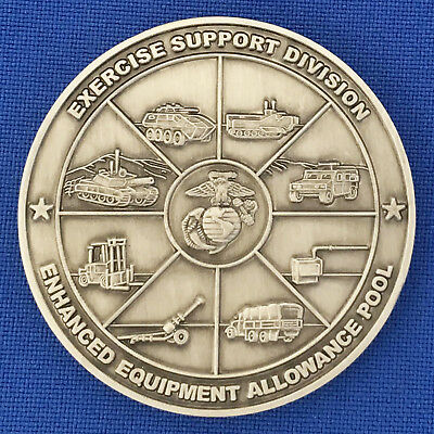 US Marine Corps Exercise Support Div EEAP MAGTF Training Dir USMC Challenge Coin