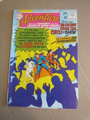 Adventure Comics #367 APR 1968 Legion of Super-Heroes DC Neal Adams            K
