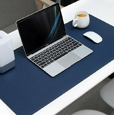 """Desk Pad 31.5"""" x 15.7"""" x 0.08"""" Dual-Sided Mouse Pad Organizer Waterproof gaming"""