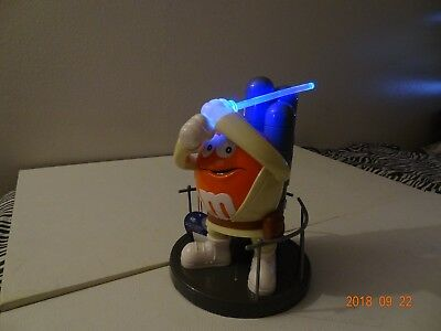 "M&m's Star Wars Luke Skywalker 10"" Orange Candy Dispenser New Unused 2015"