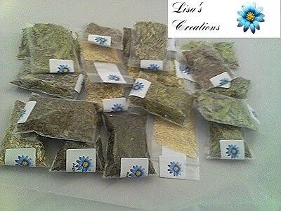 90 HERB KIT Pagan Wiccan Resins included