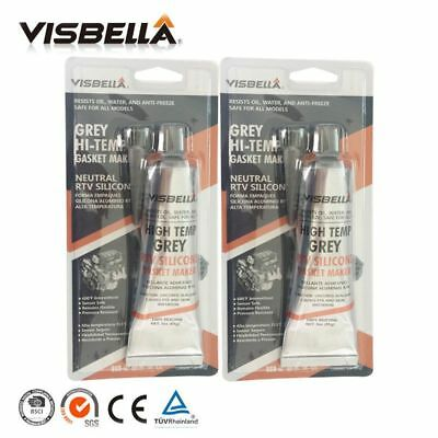 A Quality Neutral Rtv Gasket Maker Grey 85g 2 Pc Lot High Temperature Silicone