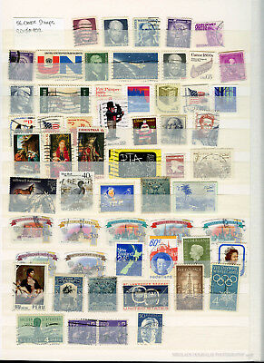 Usa World Lot Small Classic Stamp Collection 2018#102 (56 Stamps)