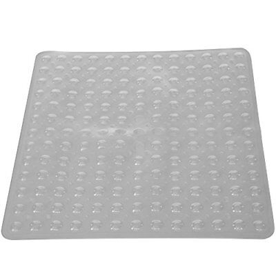PCP Non-Slip Shower Safety Mat for Traction On Tub & Tile, Clear FREE2DAYSHIP