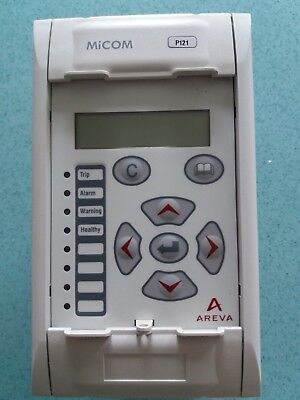 Areva MiCOM P121 Overcurrent and Earth Fault Protection Relay