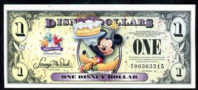 DISNEY DOLLARS, 2009T, UNCIRCULATED, THE 23rd ISSUE, SPECIAL PRICE!